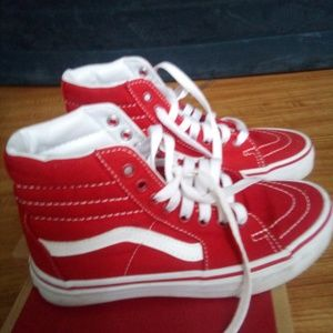 Size 6.0 vans practically brand new